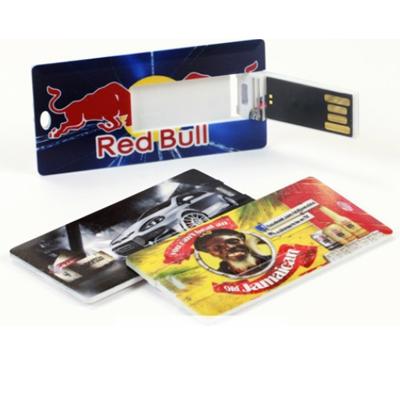 Pendrive mini cartão personalizado  - Modelo P187 - 4 GB, 8 GB e 16 GB
