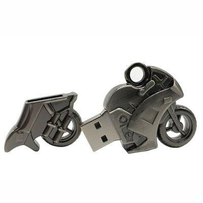 Pendrive Moto de metal - Pendrives Especiais - 8, 16 e 32 GB