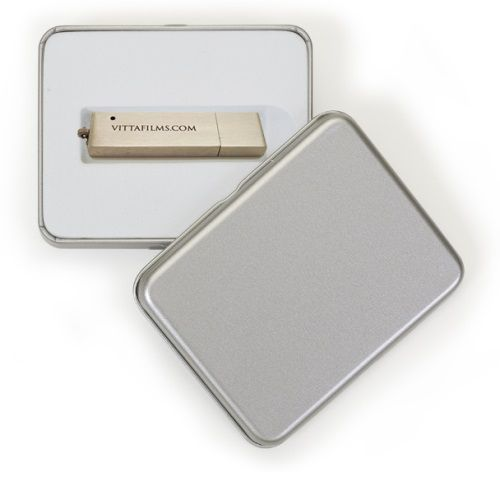 Pendrive para Fotógrafos - Kit Metal Executive - 4 GB, 8 GB