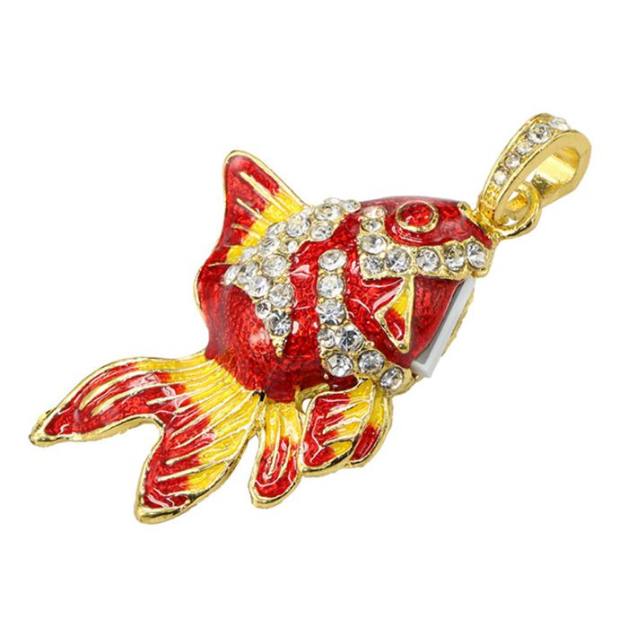 Pendrive Peixe Magicarpa colorida - Pendrive Personalizado 16, 32 e 64 GB