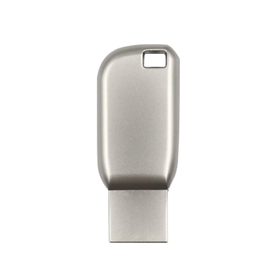 Pendrive Prata personalizado - Modelo P070 - 4 GB, 8 GB e 16 GB
