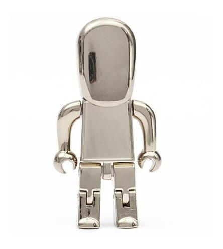- Pendrive Robo Prata 2gb Pronta entrega