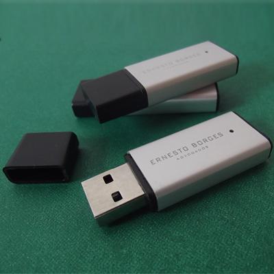 Pendrive Silver - Pendrive para Fotógrafos - 4 GB, 8 GB e 16 GB