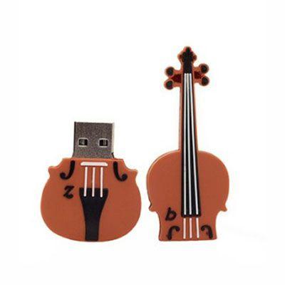 Pendrive Violino II - Pendrive Personalizado - 8 A 32 GB