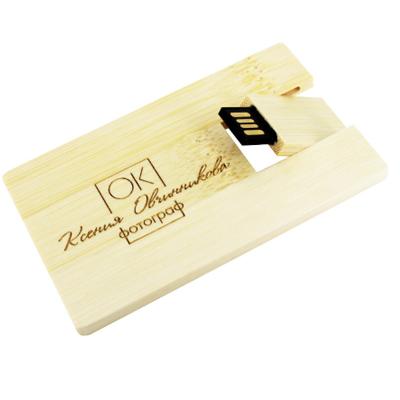Pendrive Wood Card - 4 GB, 8 GB e 16 GB - parceria Cameraclub