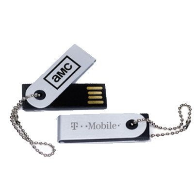 Pendrive Giratório Pequeno - Pen drive Personalizado