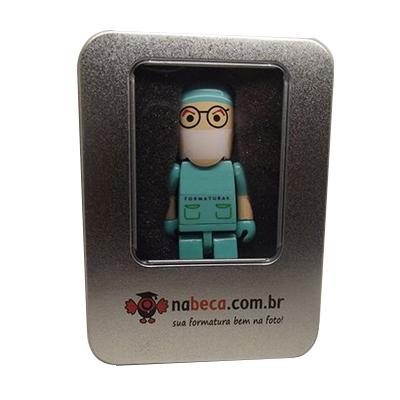 Pendrives para Formaturas - Kit Formandos Medical I de  8 GB e 16 GB