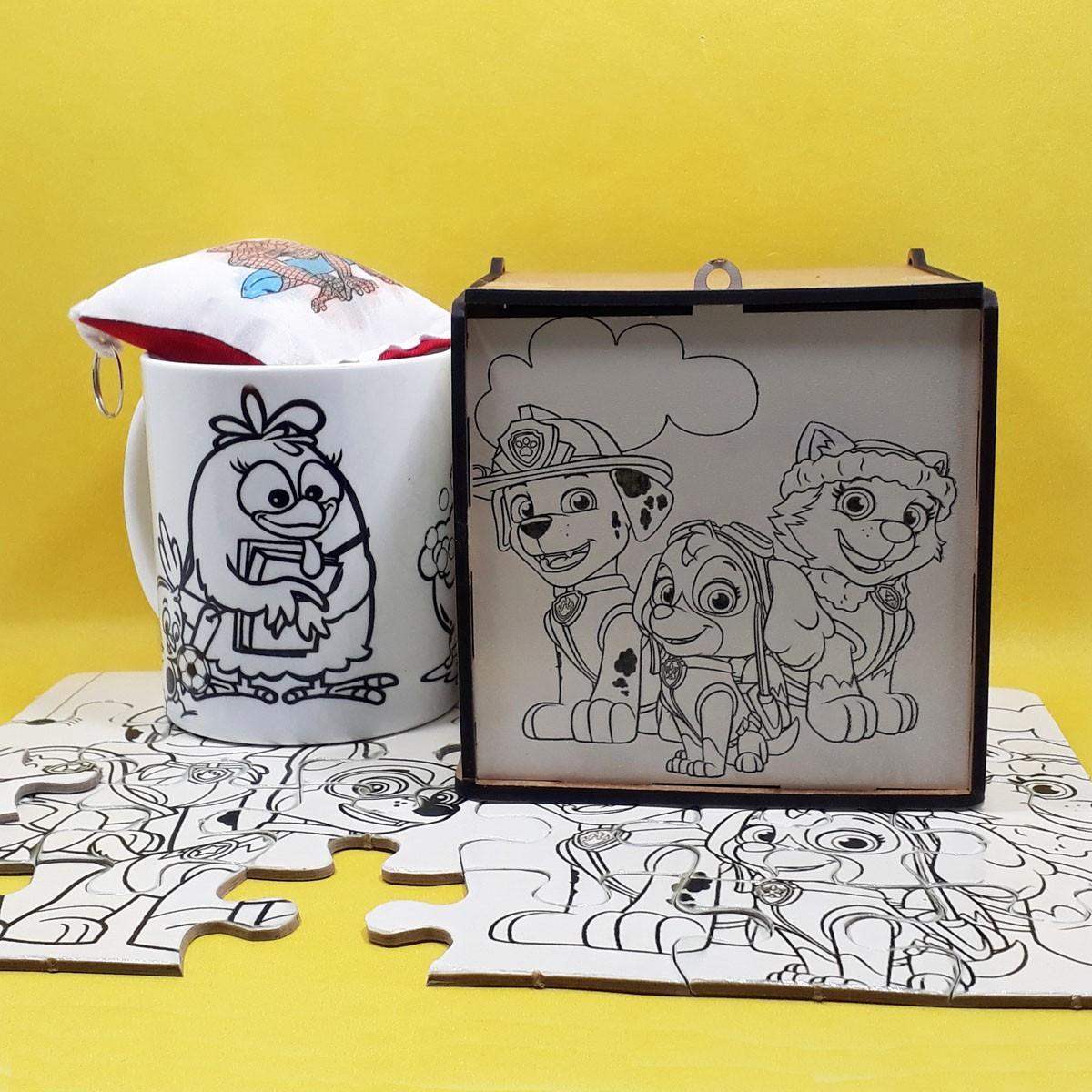 Pintar Criativo – Super Kit para Colorir com Caneta – KitPC-009