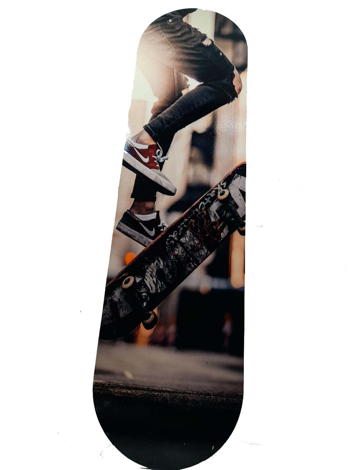 Placa Decorativa Shape Skate Personalizada + Chaveiro presente