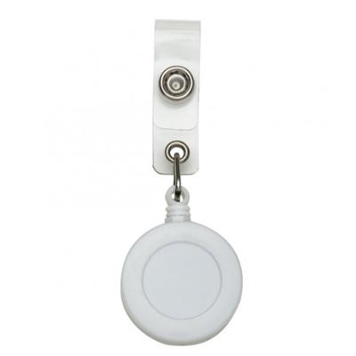 Porta cracha retratil - Cod FY001 - 50 peças