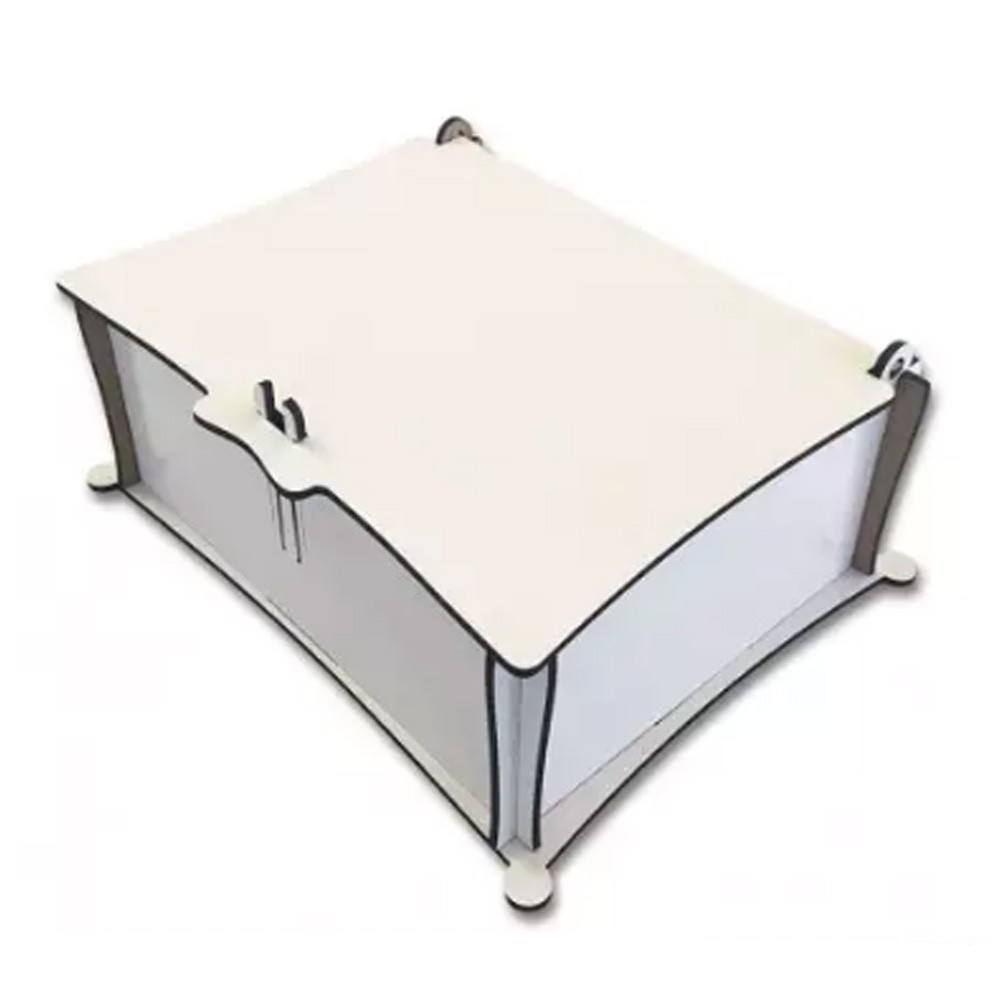 Porta Joias em MDF - CXMDF-022