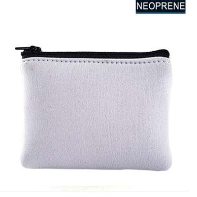 Porta Moedas  de Neoprene  - 10x12cm