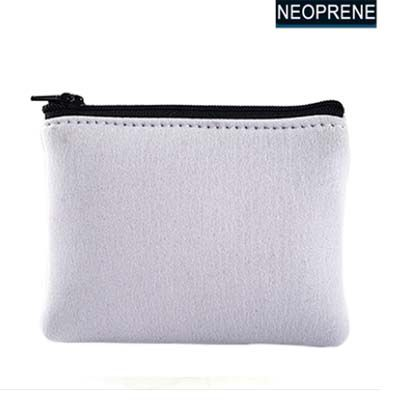 Porta Moedas  de Neoprene Grande - 12x9,5cm