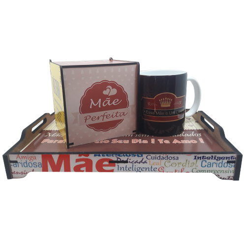 Presente Dia das Mães - Surpresa Café da Manhã