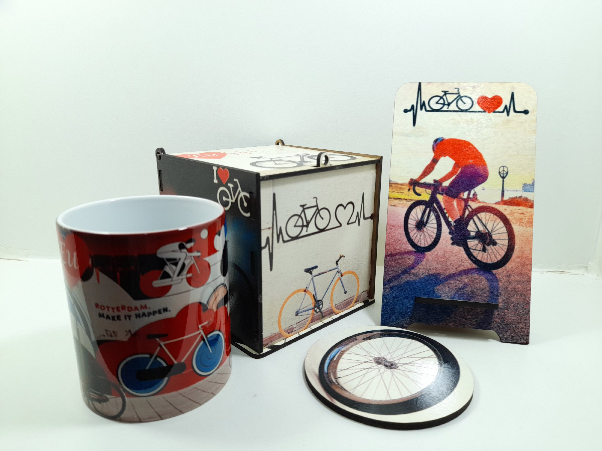 Presente para Pai Ciclista Kit Art Bike Exclusivo
