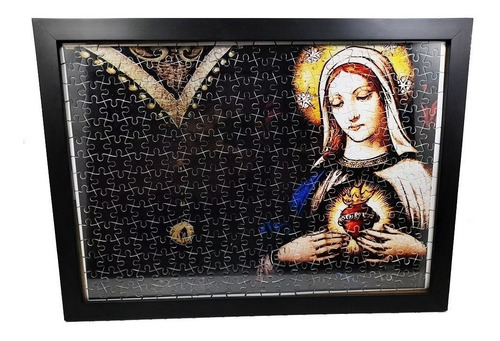 Quadro Decorativo Quebra-cabeça Menina 300 Peças