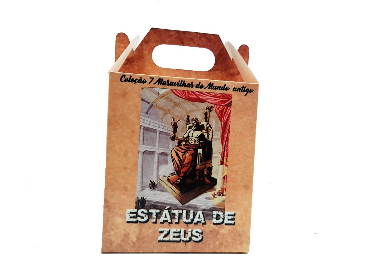 Quebra-cabeça 7 Maravilhas do Mundo - Estátua de Zeus - 300 peças