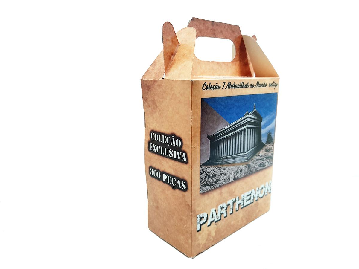 Quebra-cabeça 7 Maravilhas do Mundo - Parthenon - 300 peças