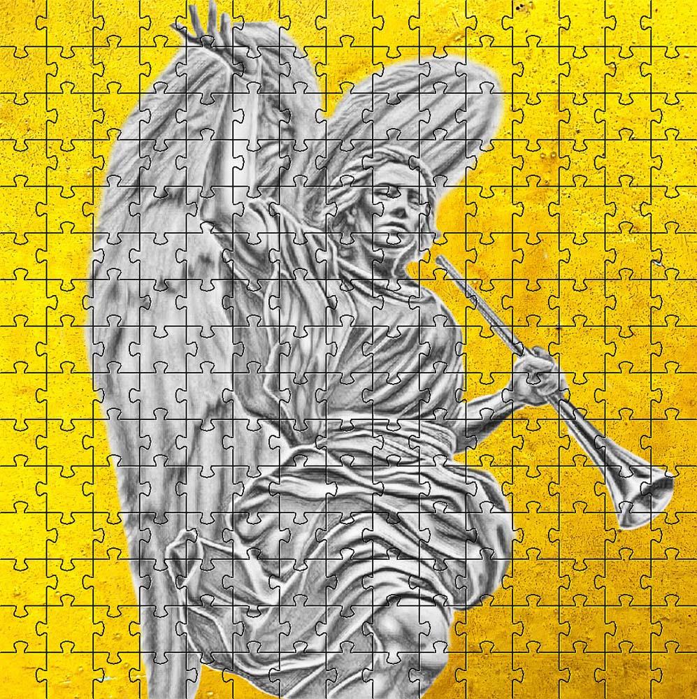 Quebra-cabeça Anjos São Gabriel de 300 peças