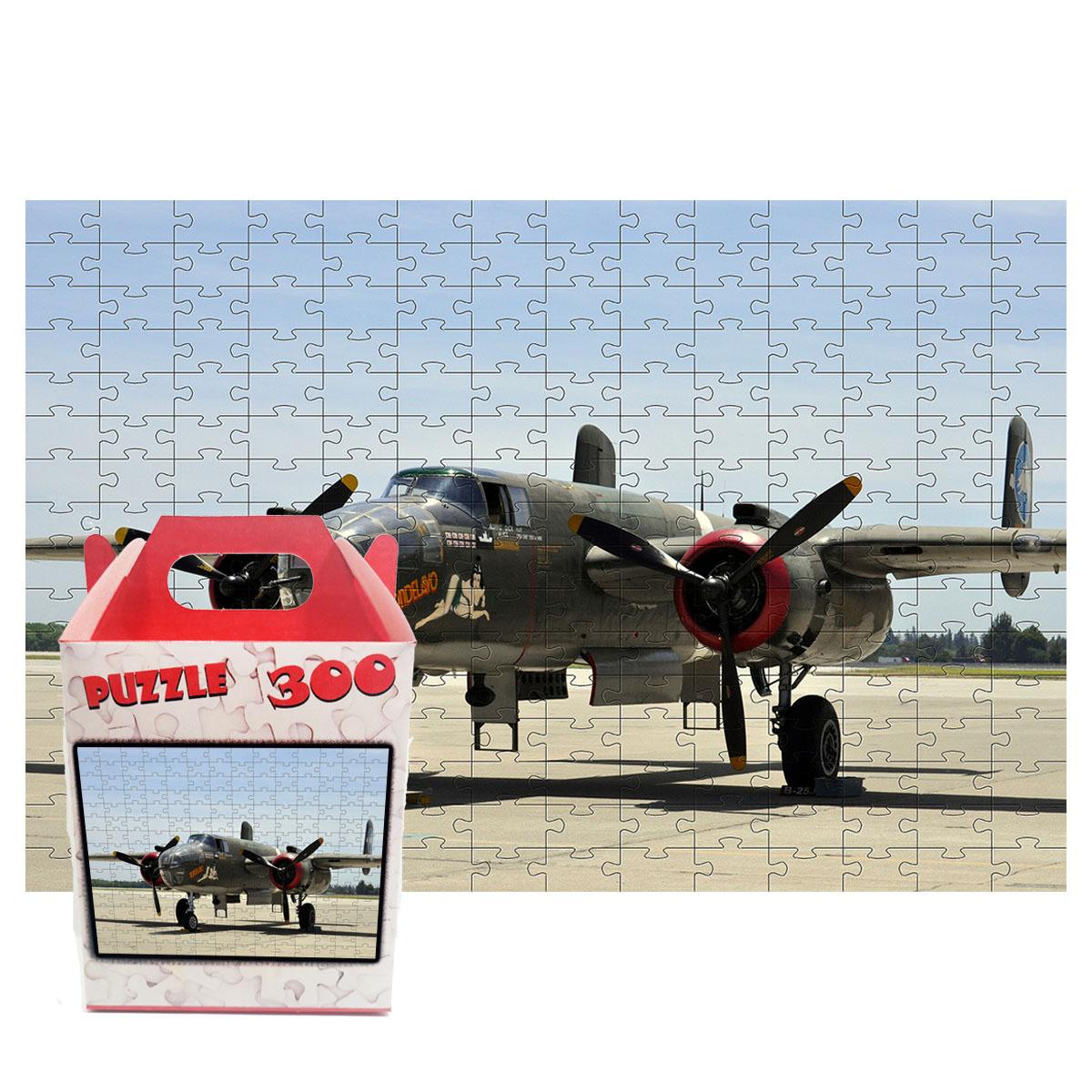 Quebra-cabeça Aviões antigos de 300 peças