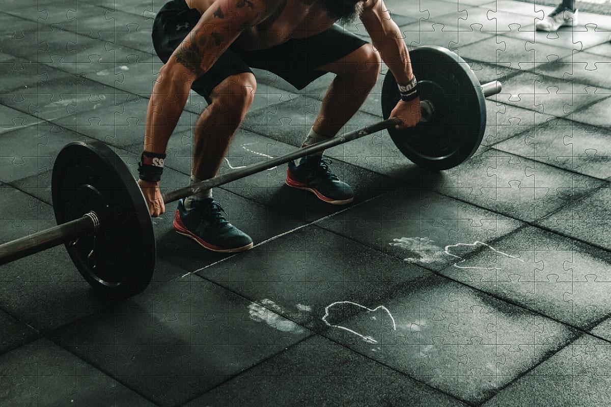 Quebra-Cabeça Cognitivo Reabilitação para Idosos - Esportes - 48 peças
