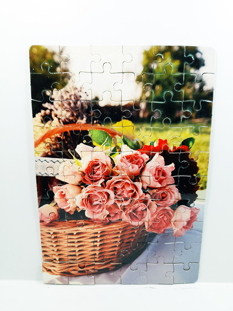 Quebra-Cabeça Cognitivo Reabilitação para Idosos - Flores - 48 peças