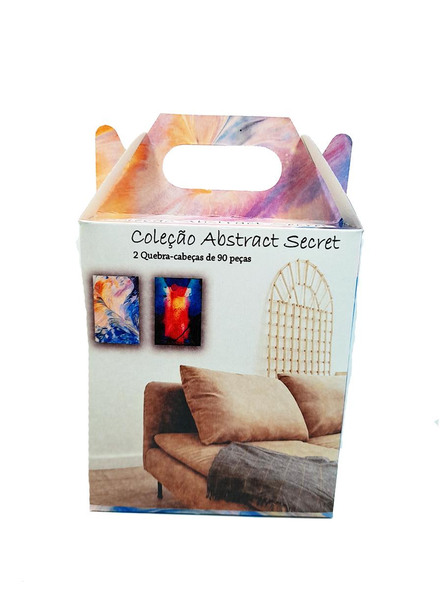 Quebra-cabeça dificil para adultos linha Abstract Secret 165 peças - Roses and Flowers