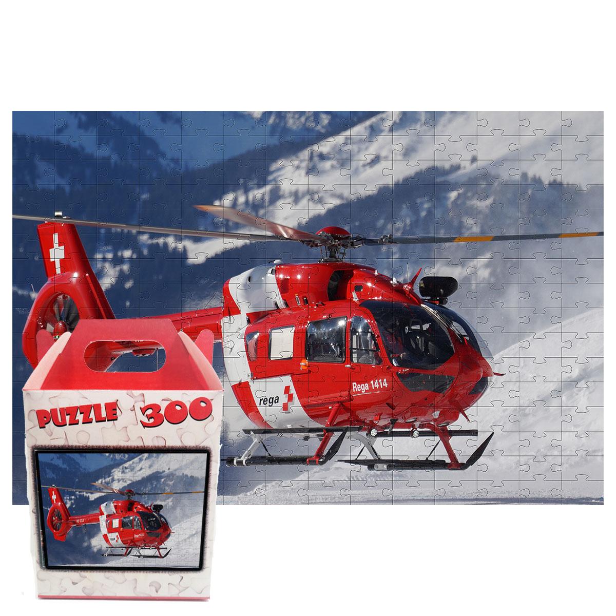 Quebra-cabeça Helicopteros de 300 peças