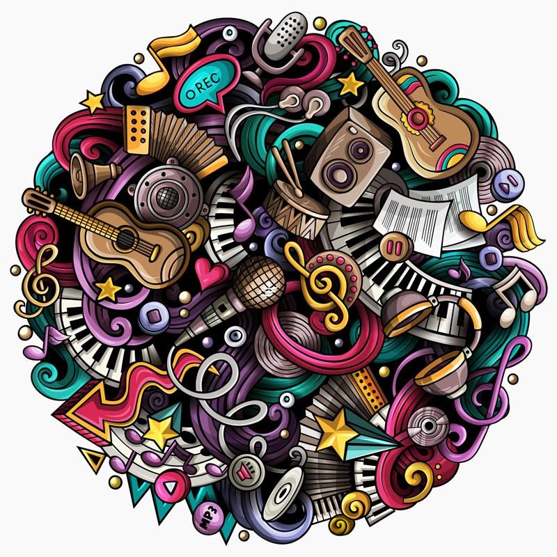 Quebra-cabeça Importado Redondo - 1000 peças