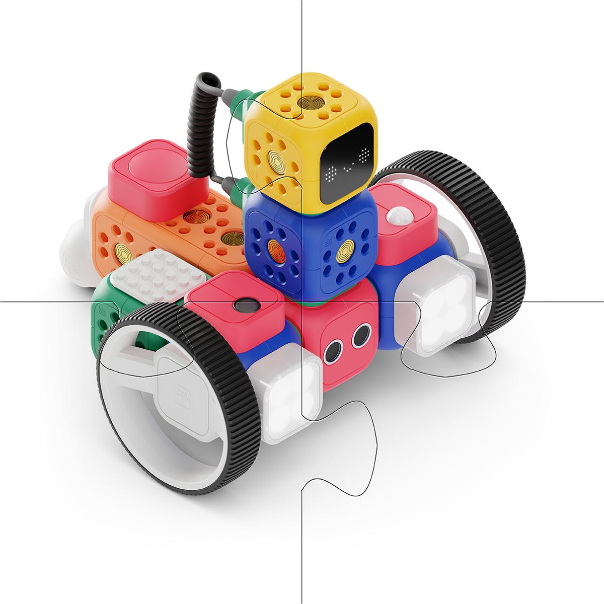 Quebra cabeça infantil Cognitivo de madeira para Crianças - MDF 4 peças