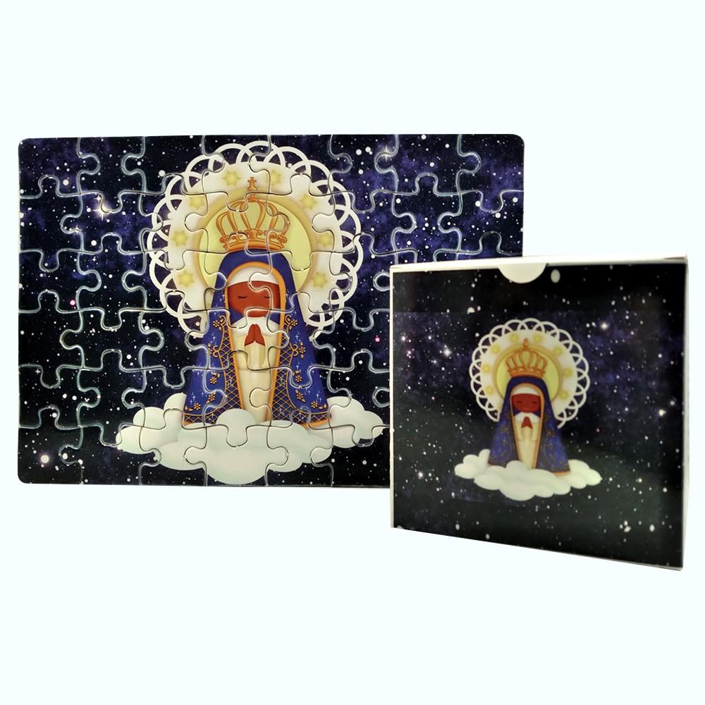 Quebra-Cabeça Infantil Nossa Senhora de  165 peças com Terço