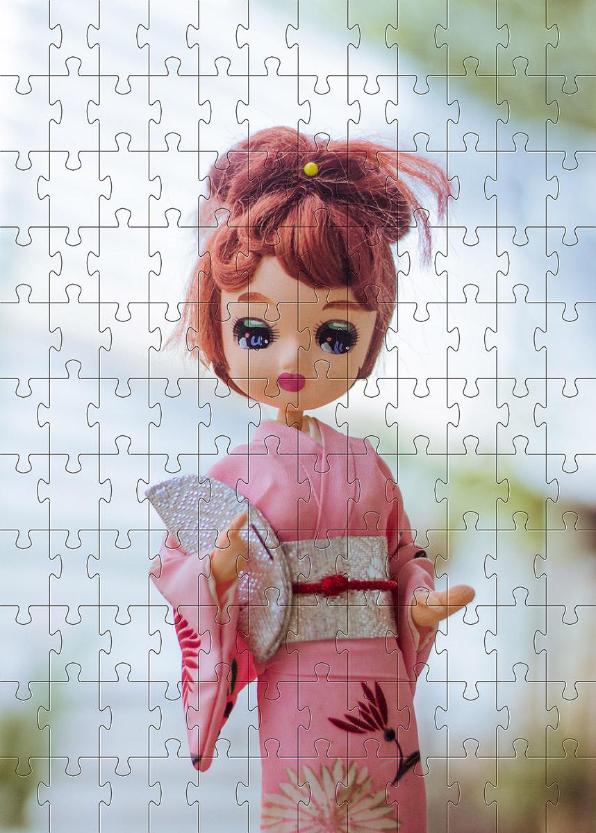Quebra cabeça infantil para Crianças - Tema Bonecas - 48 peças
