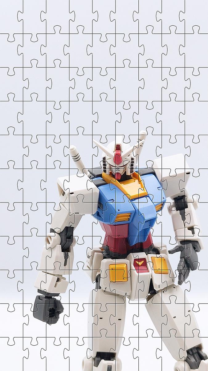 Quebra cabeça infantil Robôs de 48 peças para crianças