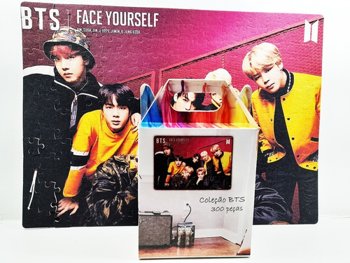 Quebra-cabeça K-pop Bts 300 Peças Personalizado