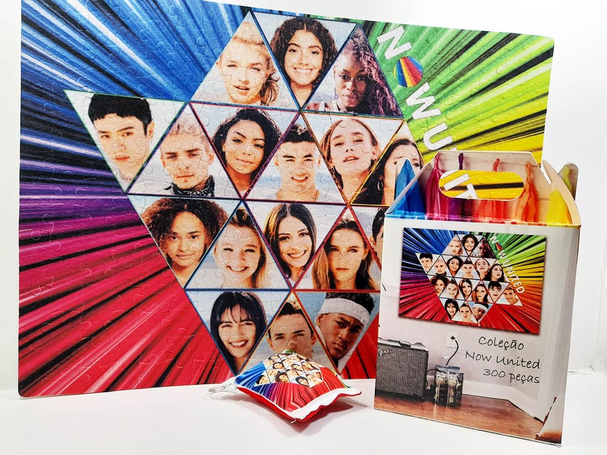 Quebra-cabeça Now United Fãs de 300 peças