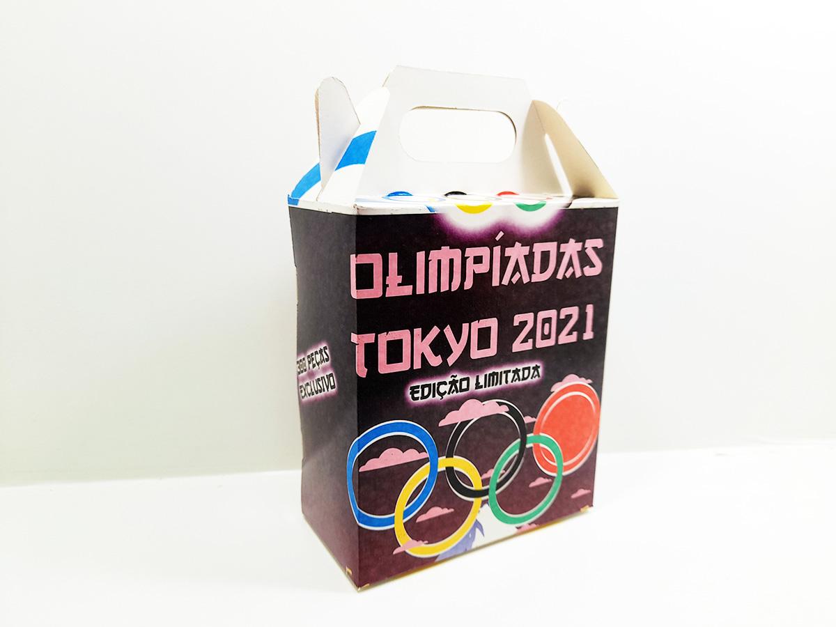 Quebra Cabeça Olimpíadas de Tóquio de 165 peças + Mouse Pad