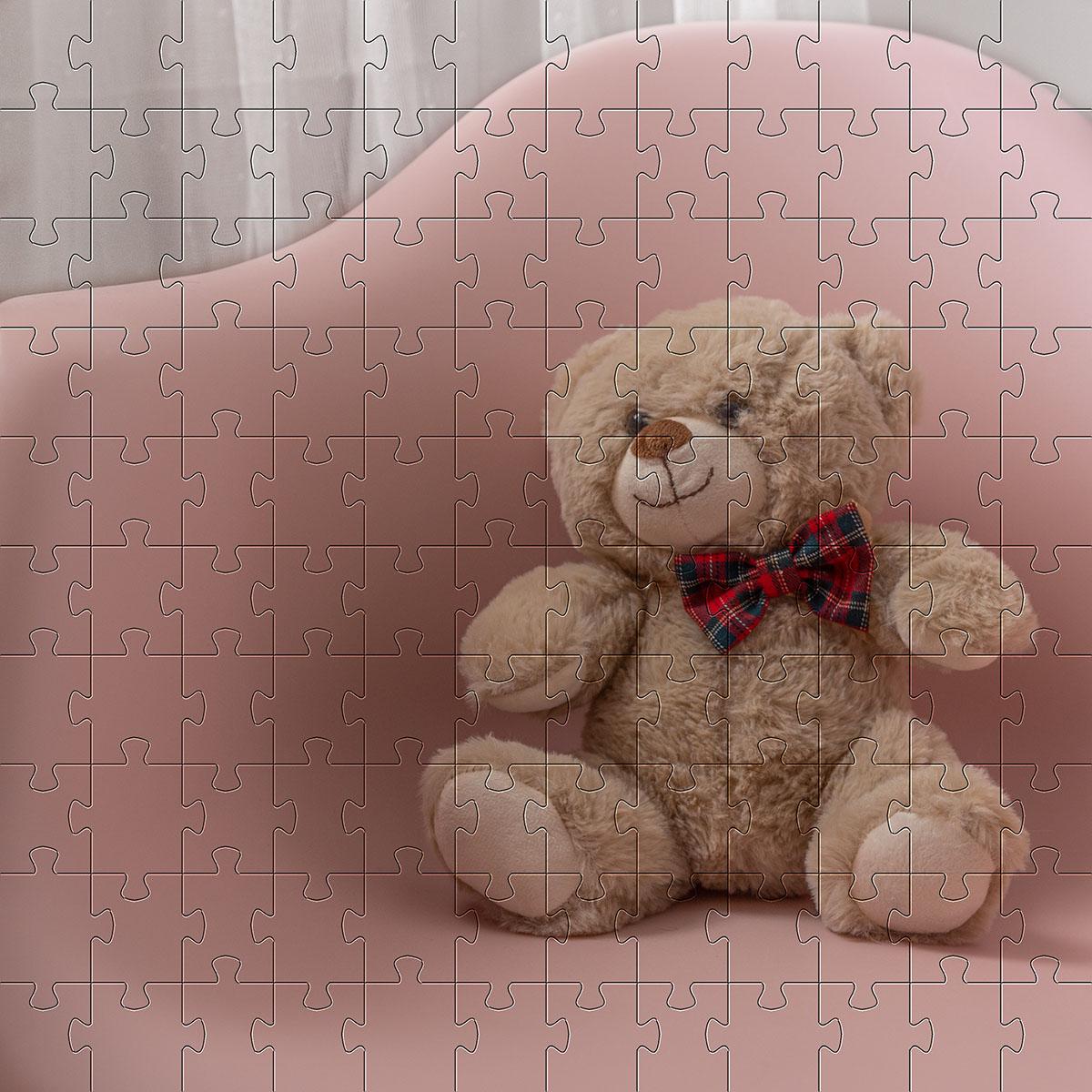 Quebra cabeça para crianças Infantil -Tema Ursinhos- 48 peças