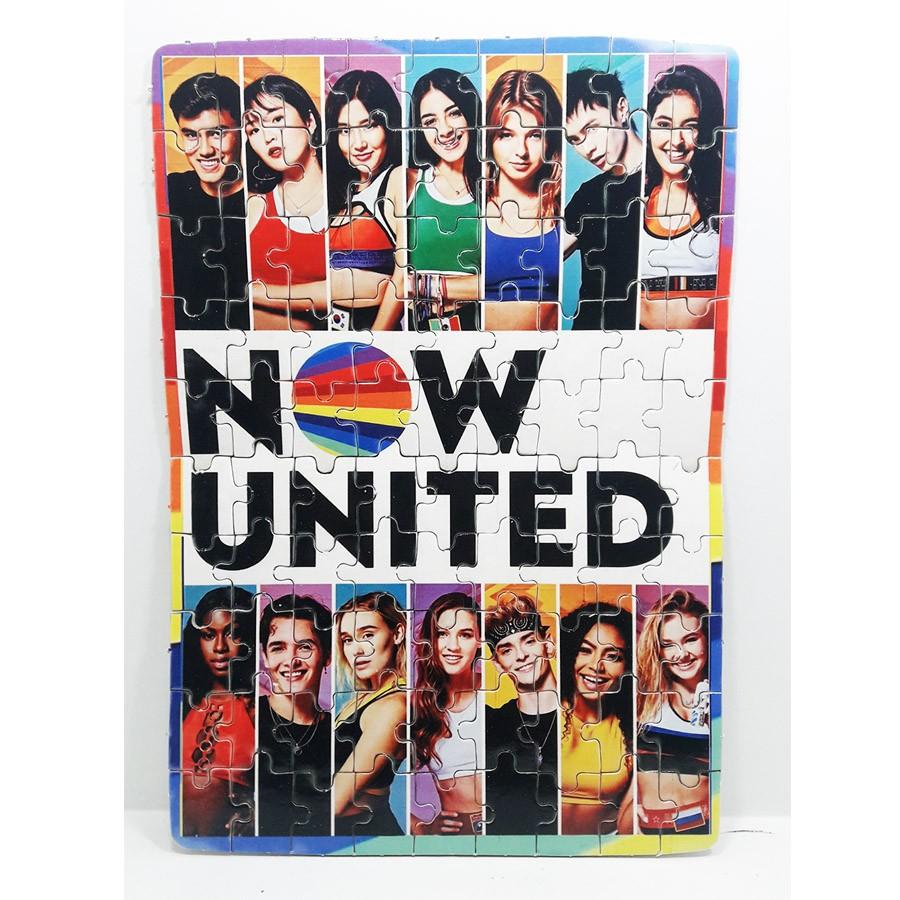 Quebra-cabeça para Fãs Grupo Now united color - 90 peças