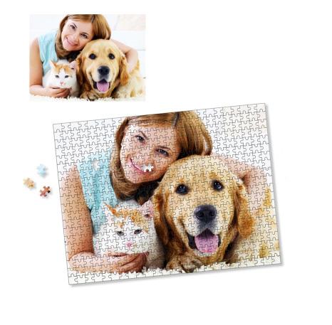 Quebra-Cabeça Personalizado 252 peças com fotos- Pronta entrega