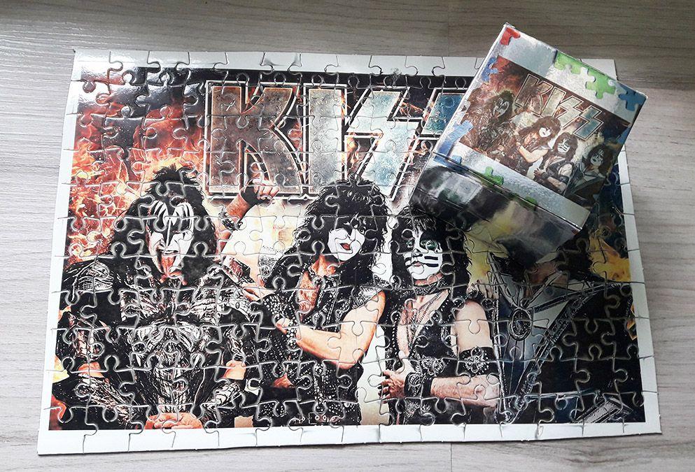 Quebra-cabeça personalizado Banda Kiss 165 peças