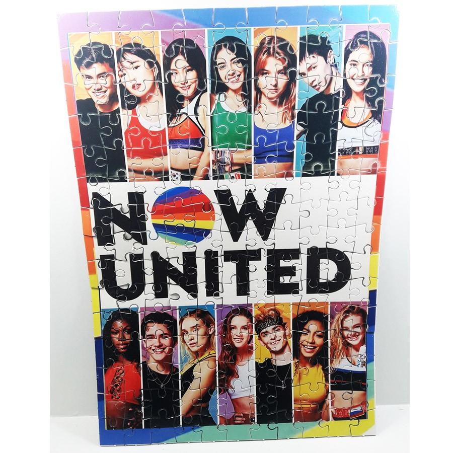 Quebra-cabeça personalizado Color Grupo Now united - 165 peças