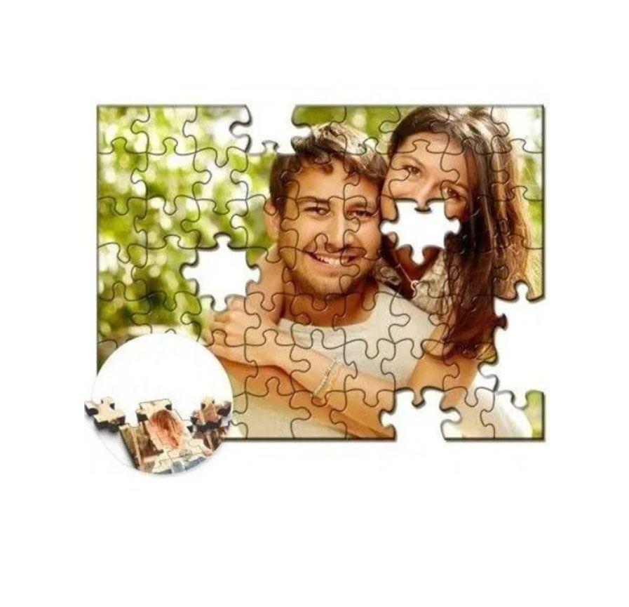 Quebra-Cabeça Personalizado com Fotos 300 peças