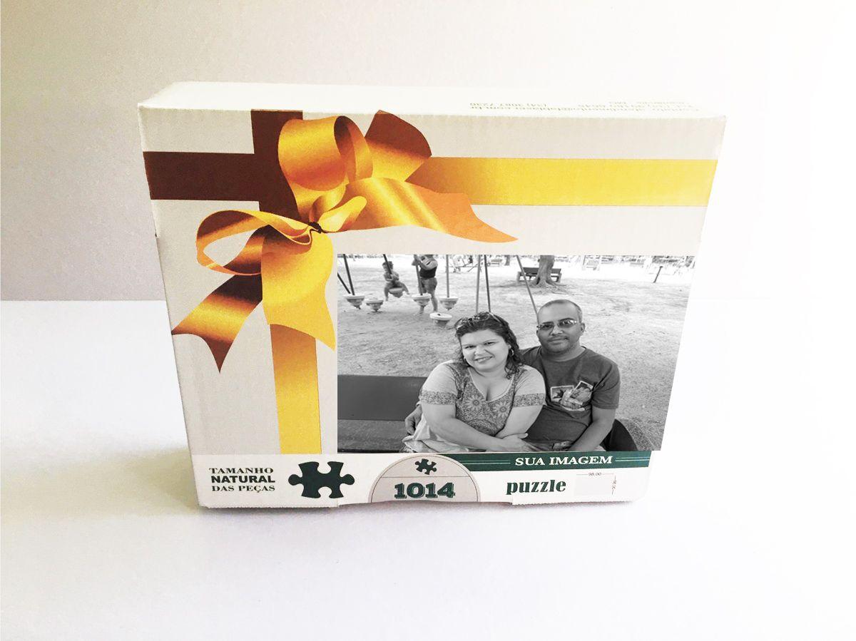 Quebra-Cabeça Personalizado com Fotos 500 peças