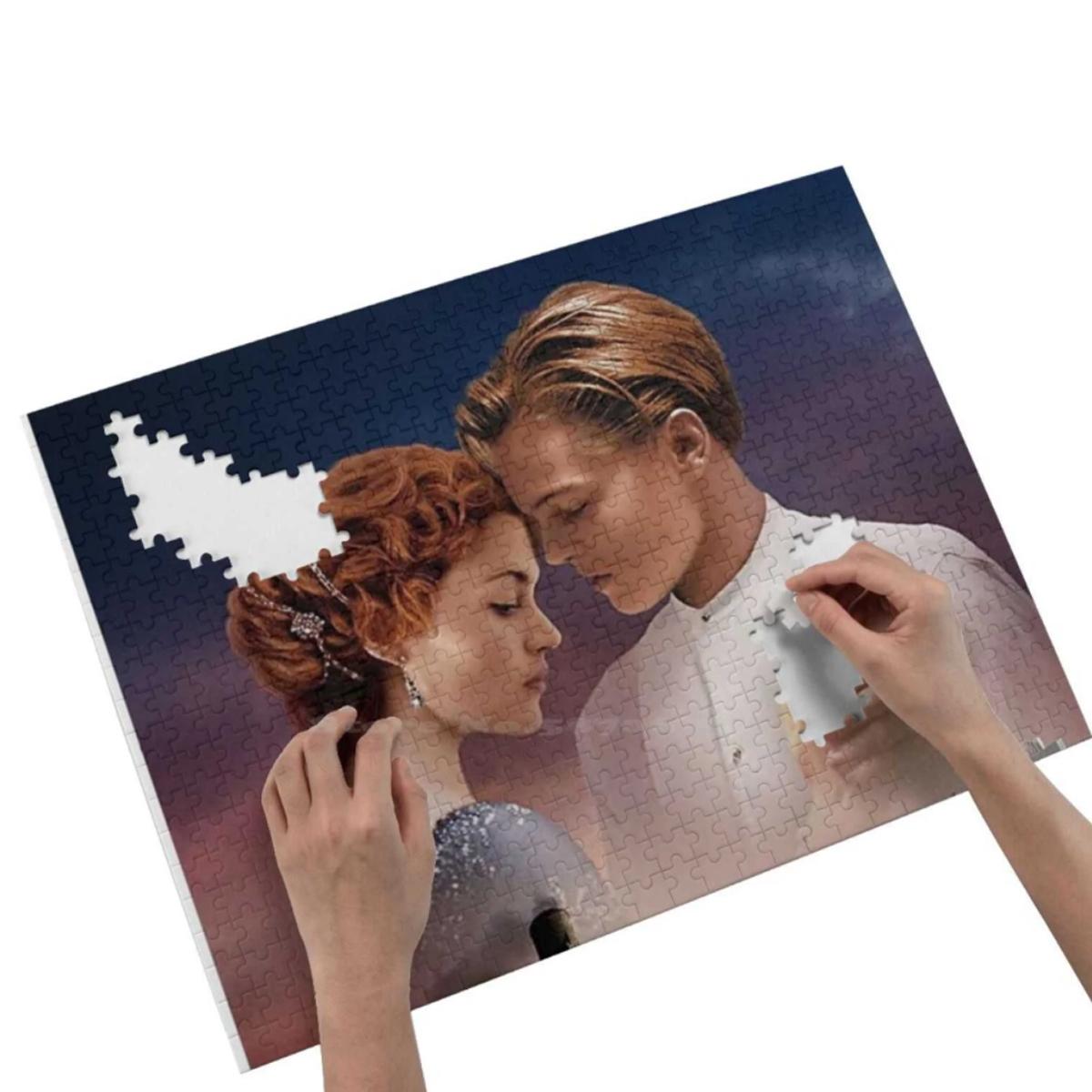 Quebra Cabeça Personalizado Com Sua Foto Quer Namorar Comigo