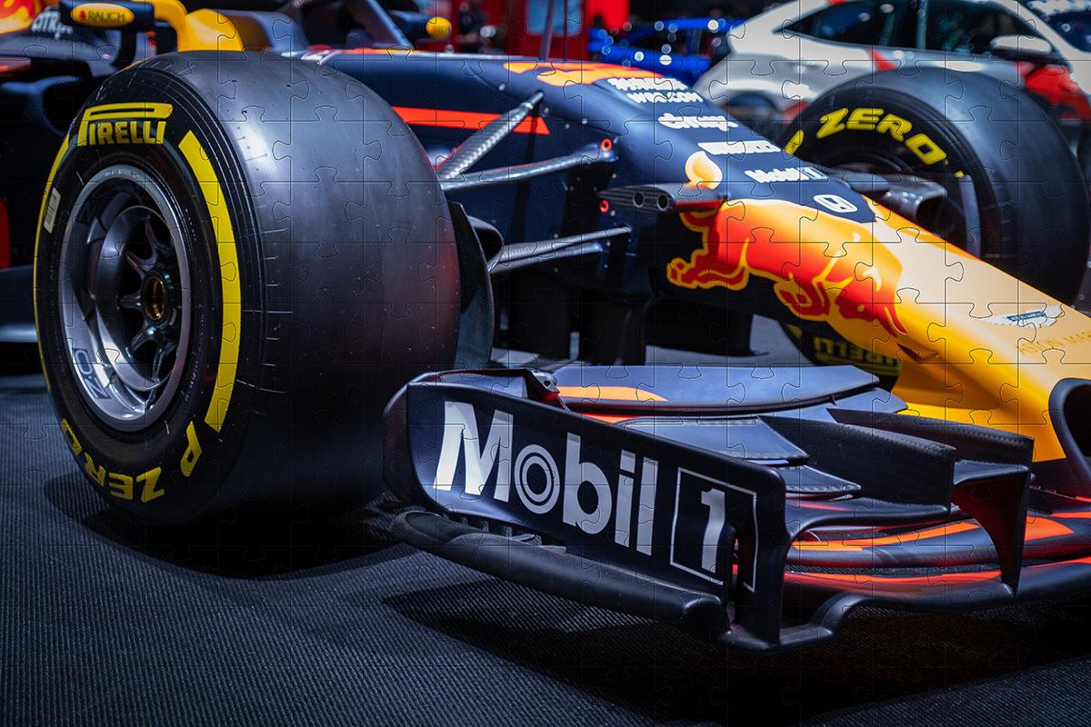 Quebra-Cabeça Personalizado Formula 1 fotos - 165 e 300 peças