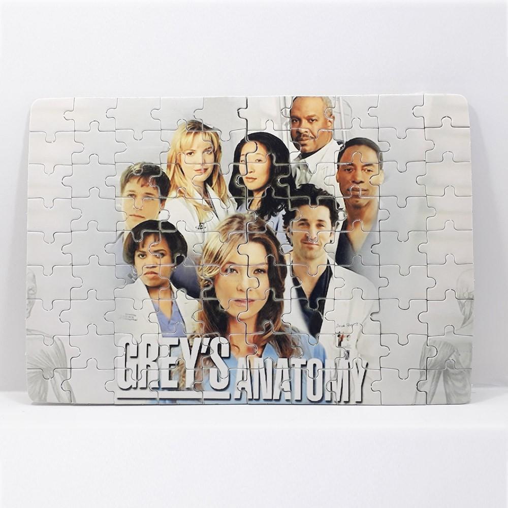 Quebra-cabeça personalizado Grey's Anatomy de 90 ou 60 peças