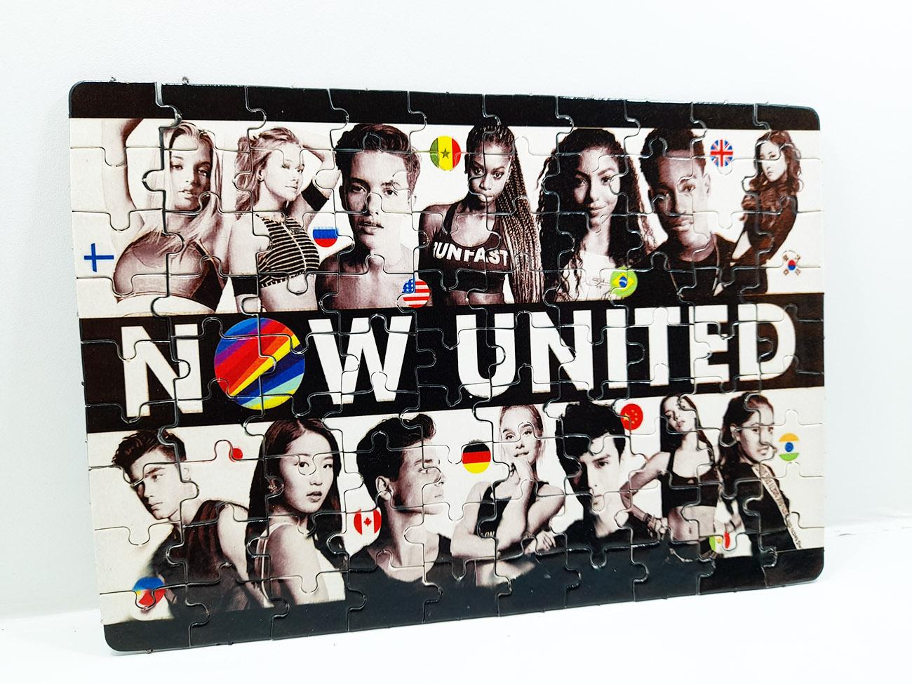 Quebra-cabeça personalizado  Now united - 165 peças