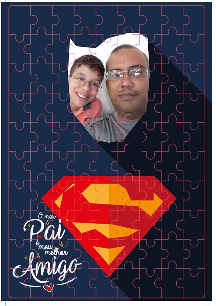 Quebra-Cabeça Personalizado presente dia dos Pais