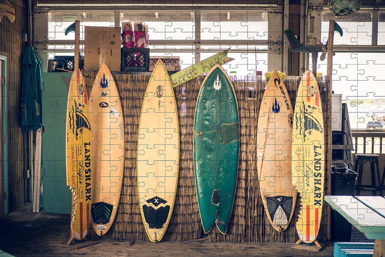 Quebra-cabeça Pranchas de Surf de 300 peças