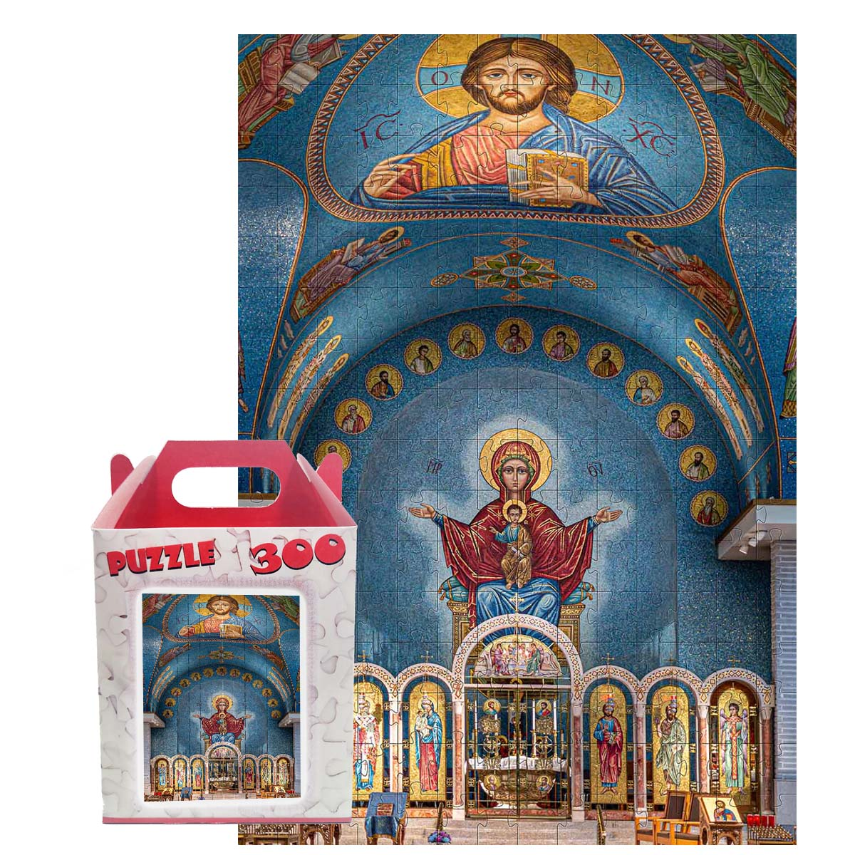 Quebra-cabeça Puzzle Capela Arte Religiosa 300 peças
